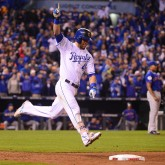 Alex Gordon World Series Home Run