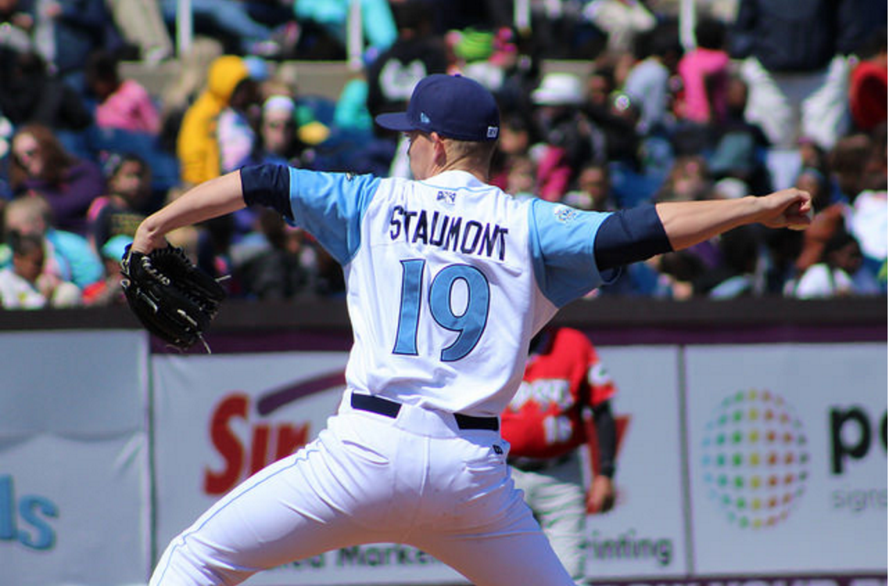 Josh Staumont Wilmington Blue Rocks - Photo Jake Rose