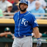 MLB: Spring Training-Kansas City Royals at Oakland Athletics