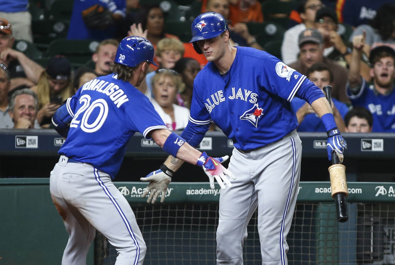 Josh Donaldson and Michael Saunders