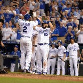 Alcides Escobar and Kendrys Morales