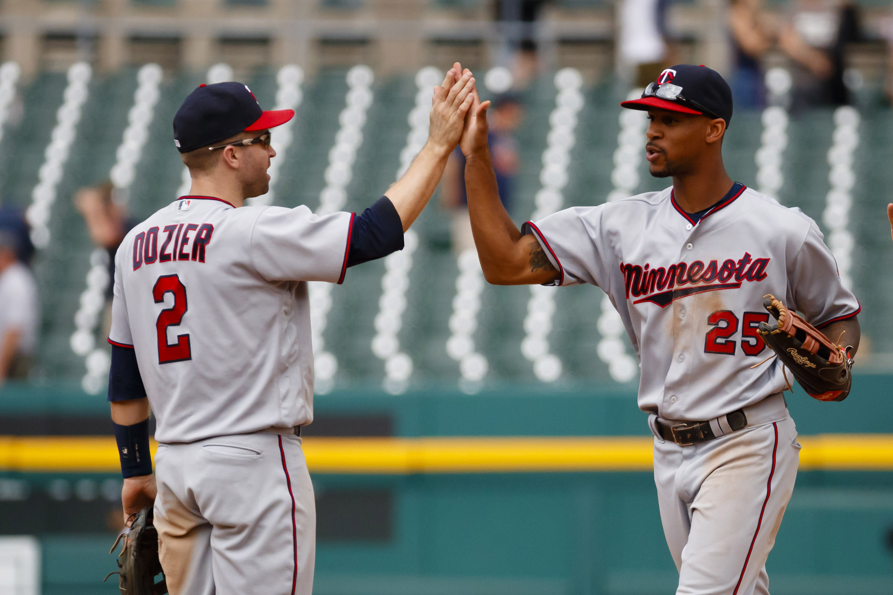 Byron Buxton and Brian Dozier