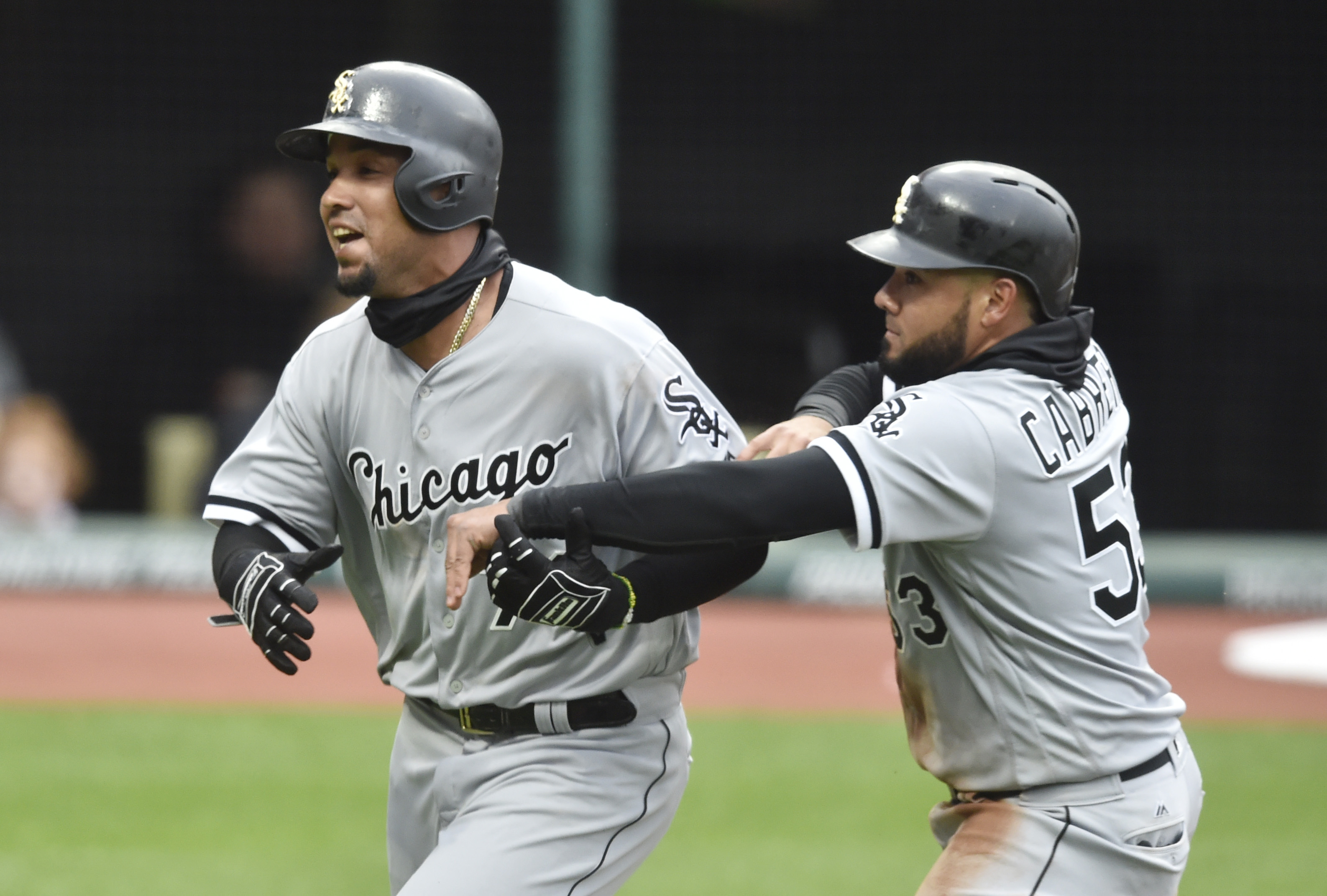 Jose Abreu and Melky Cabrera