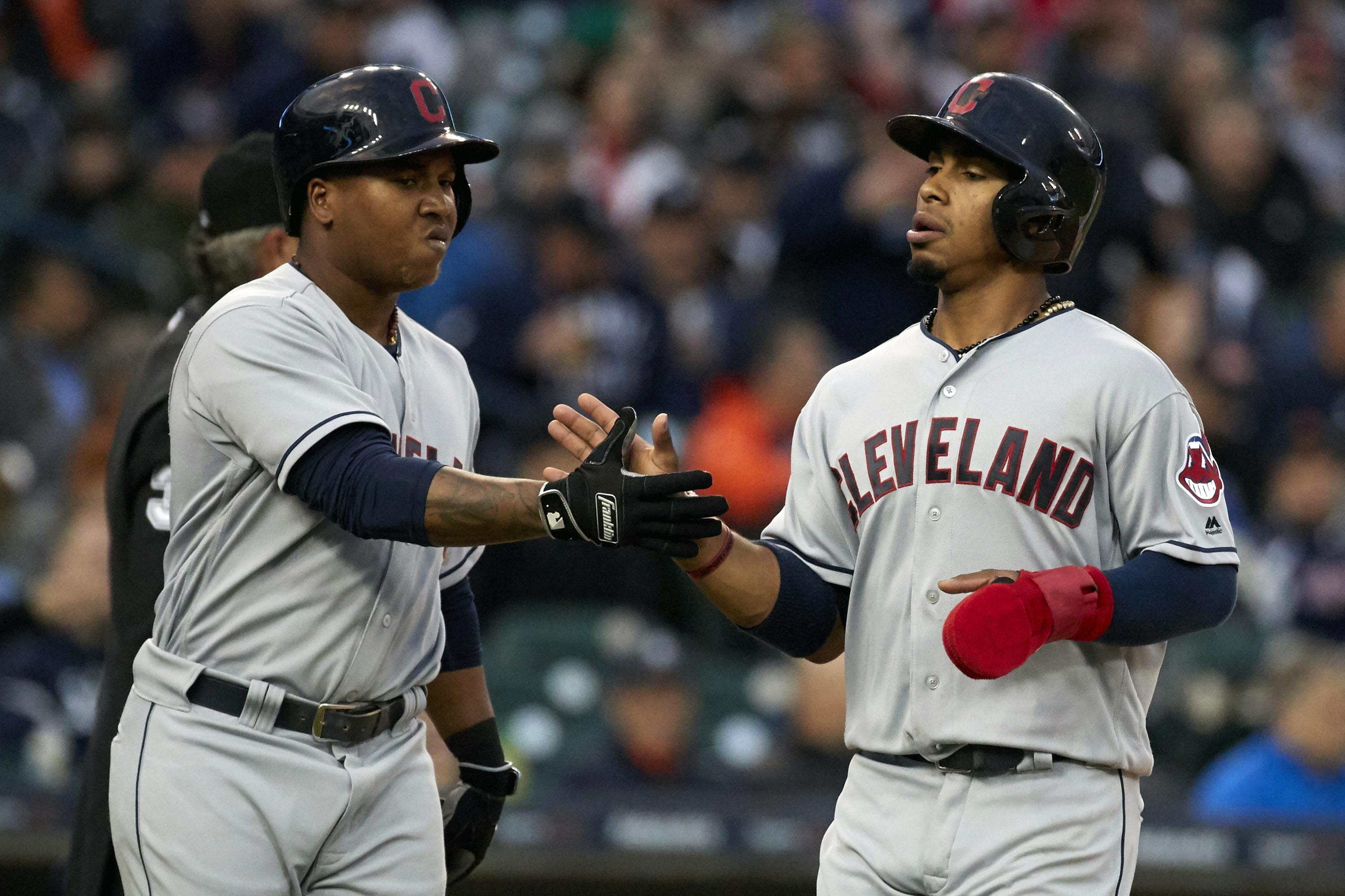 Francisco Lindor and Jose Ramirez