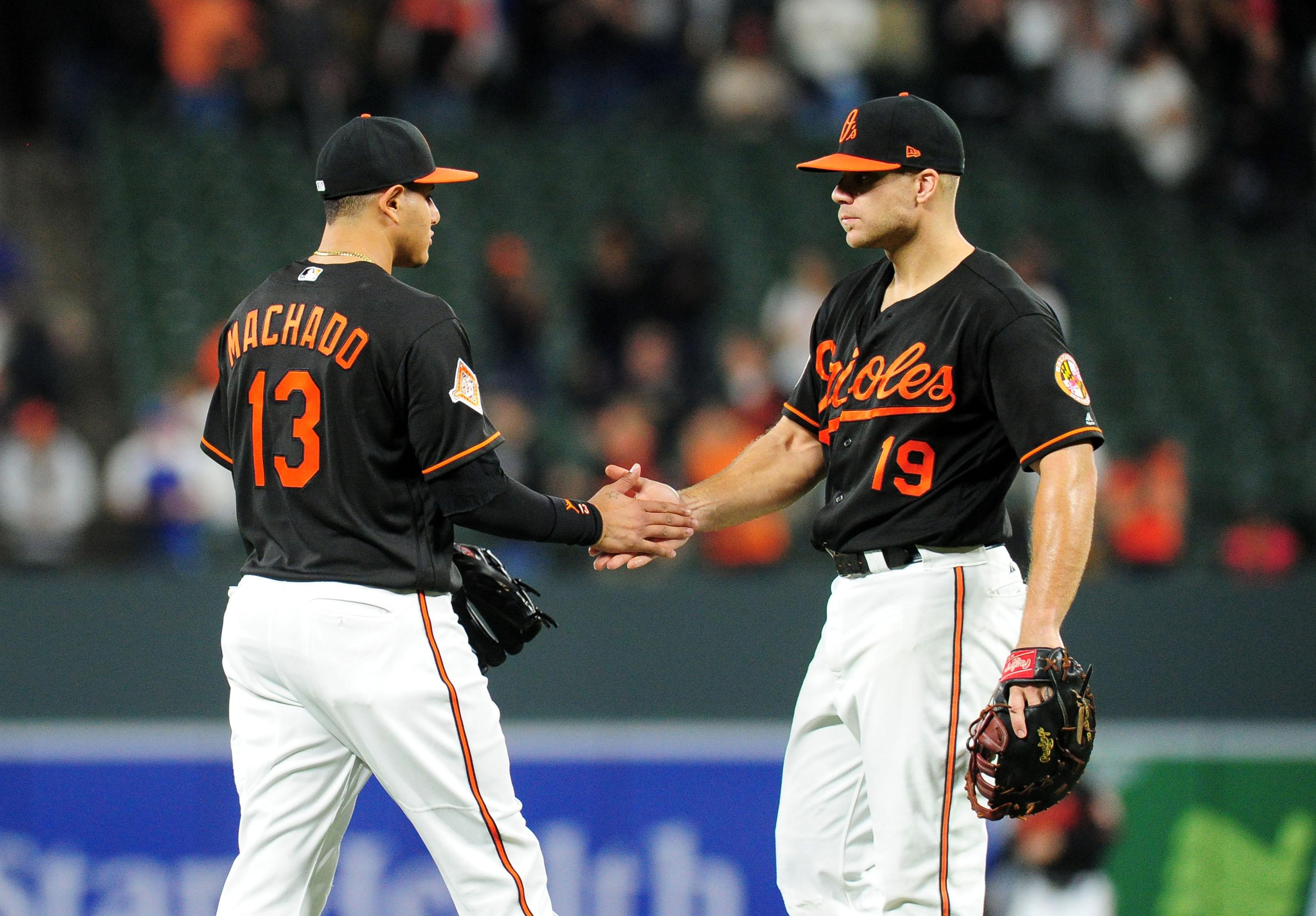 Manny Machado and Chris Davis