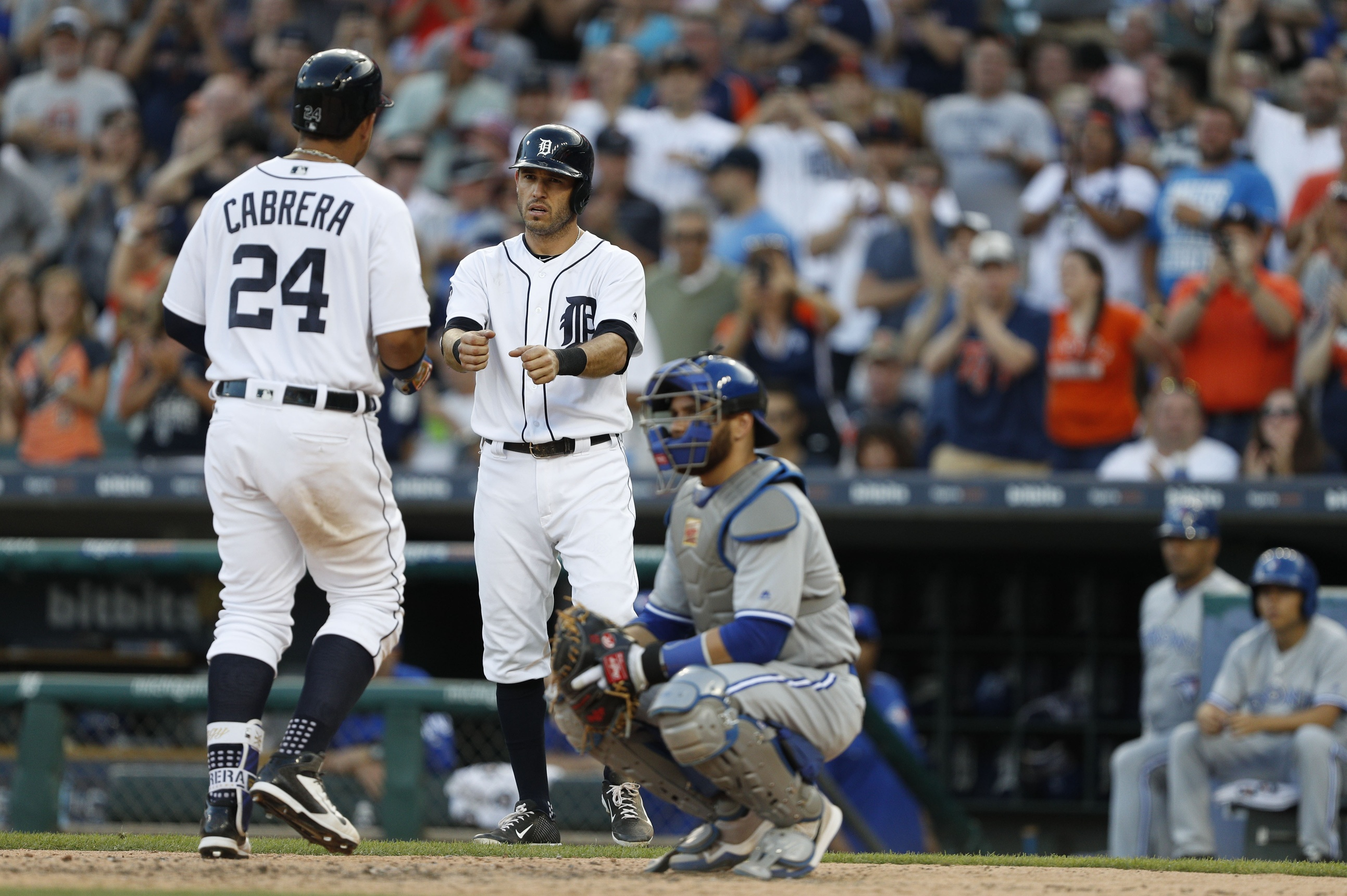 Miguel Cabrera and Ian Kinsler