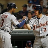 Ian Kinsler and Justin Upton