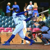 Seuly Matias, RF, Lexington Legends, Takes a Big Cut-new edit