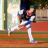 Lynch on the hill vs. West Virginia; July 19th, at Lexington. (Photo: Clinton Riddle)